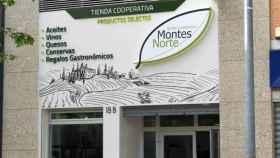 Fachada de la nueva tienda de Montes Norte en Ciudad Real capital
