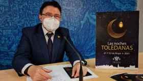 El concejal de Cultura del Ayuntamiento de Toledo, Teo García, ha presentado la programación de Las Noches Toledanas