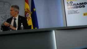 Fernando Grande Marlaska, ministro del Interior, en Moncloa.