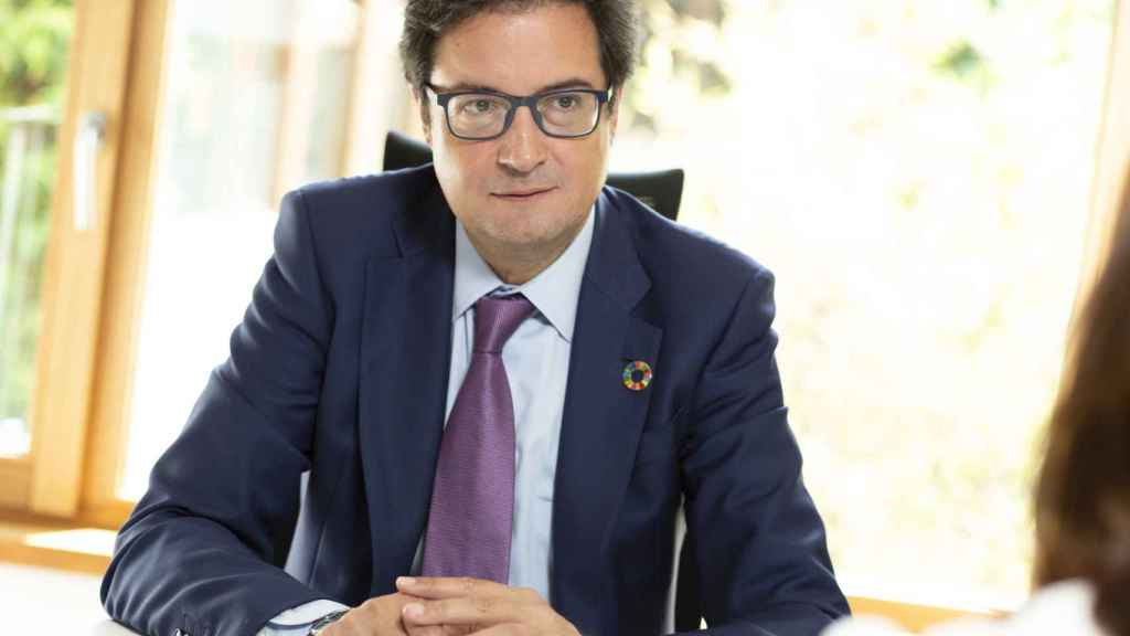 Óscar López, expresidente de Paradores.