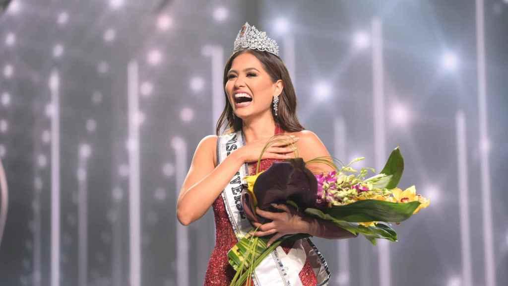 La mexicana Andrea Meza ha conseguido el título de Miss Universo 2021.