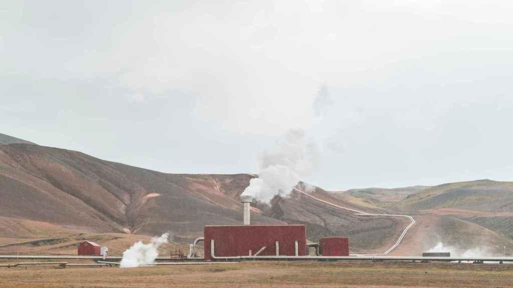 Planta geotérmica en Islandia