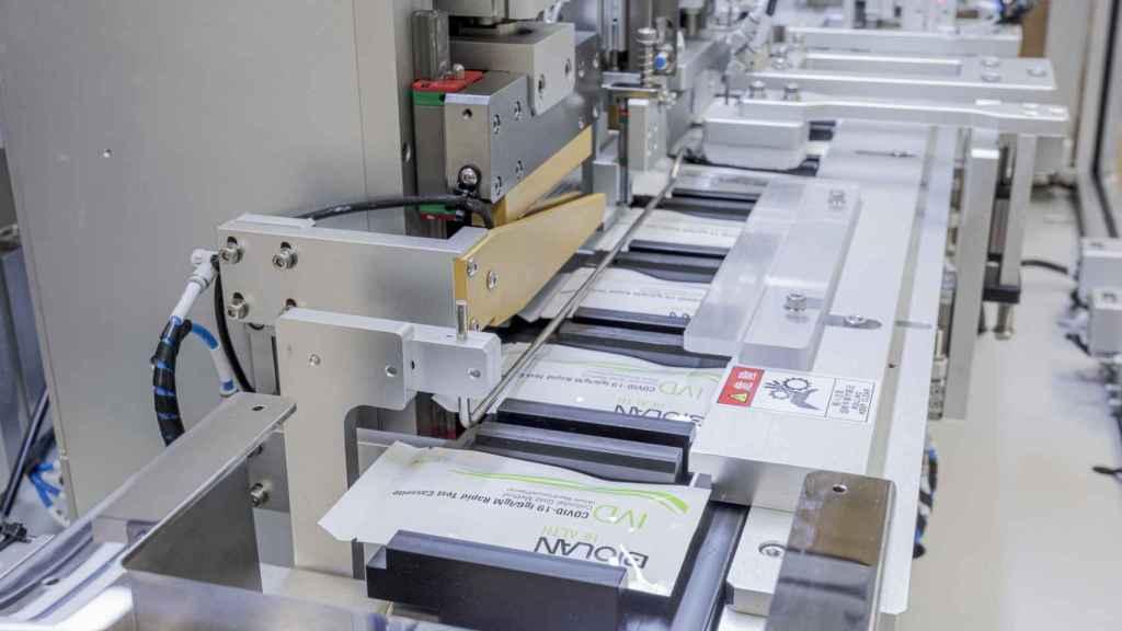 Sistemas de producción de Biolan Health, una de las empresas del cluster vasco.