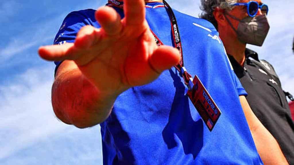 Fernando Alonso, con los colores de Alpine F1 Team