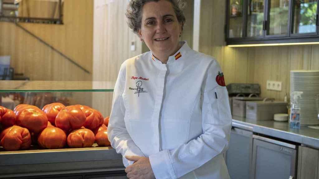 Los famosos tomates del Qüenco de Pepa.