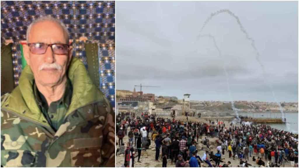 Brahim Gali, jefe del Frente Polisario, salió hace dos semanas de España.