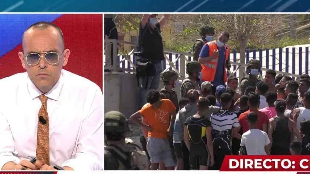 El juez de 'Got Talent' ha analizado la grave crisis diplomática entre España y Marruecos.