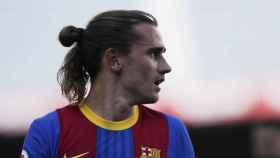 Antoine Griezmann, durante un partido con el Barça