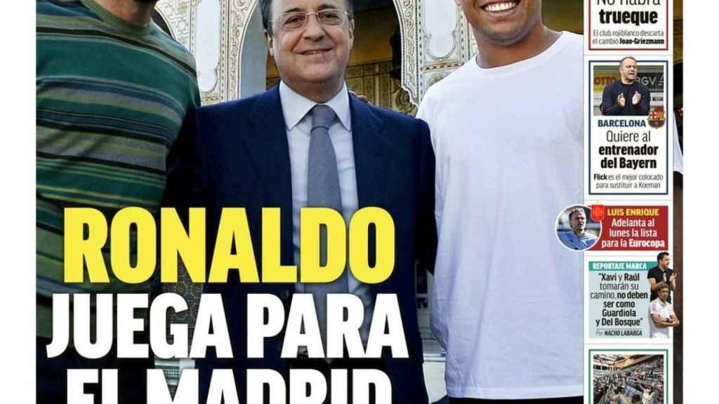 Portada MARCA (20/05/21)