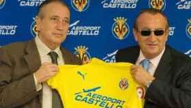 Fernando Roig y Carlos Fabra, en una imagen de archivo. EE