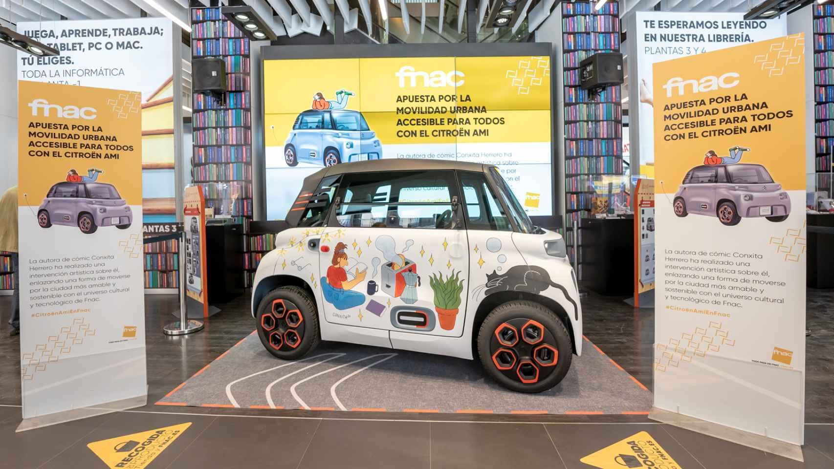 Nuevo Citroën Ami: así ha sido su presentación en Madrid