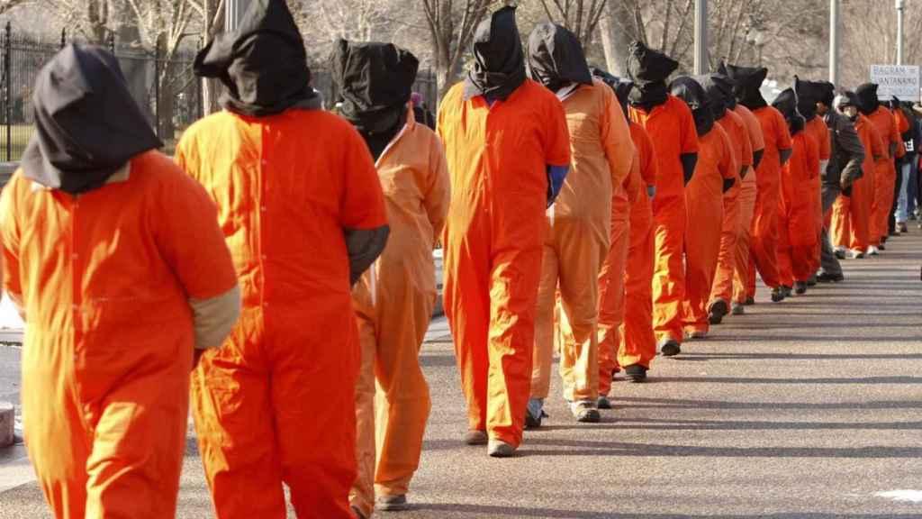 Presos en la prisión de Guantánamo. EP