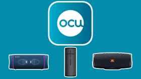 Fotomontaje con el logo de la OCU.