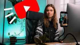 Fotomontaje con el logo de YouTube.