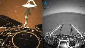Primeras fotos del rover chino en Marte