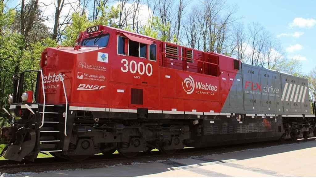 Wabtec Locomotive
