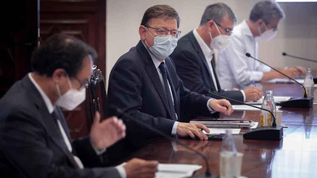 Puig, en una reunión reciente.
