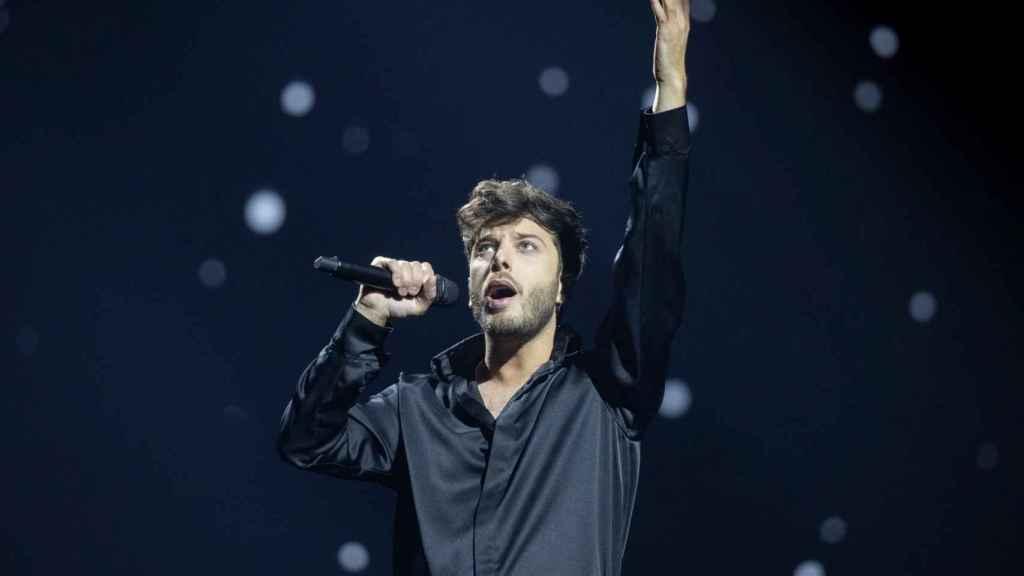 Blas Cantó se muestra satisfecho con lo que se verá en su actuación.