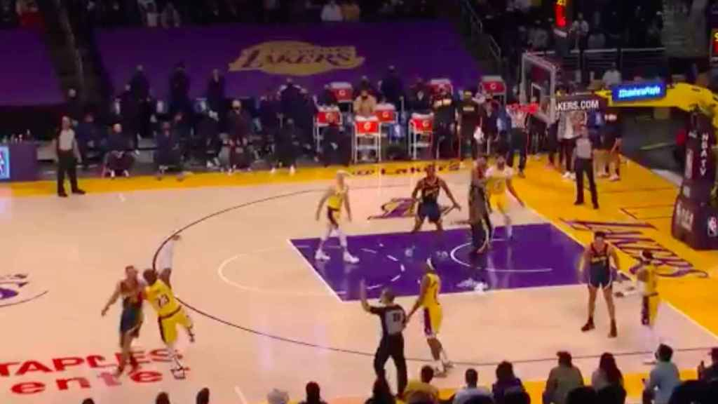 El triple ganador de LeBron James contra los Warriors