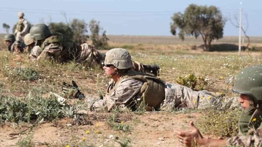Imagen del ejercicio militar 'African Lion'.