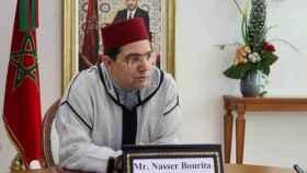 El ministro de Exteriores marroquí, Nasar Burita.