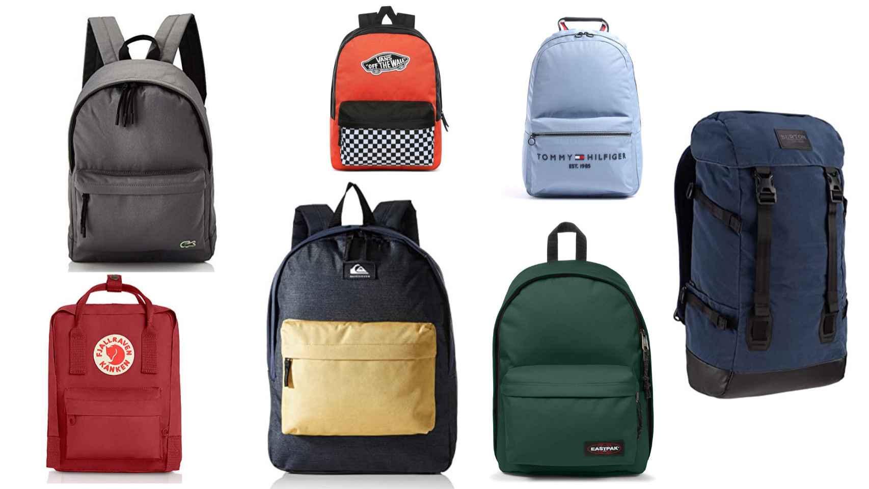 Las mejores mochilas para el día a día: Vans, Fjallraven Kanken, Tommy Hilfiger, Lacoste…