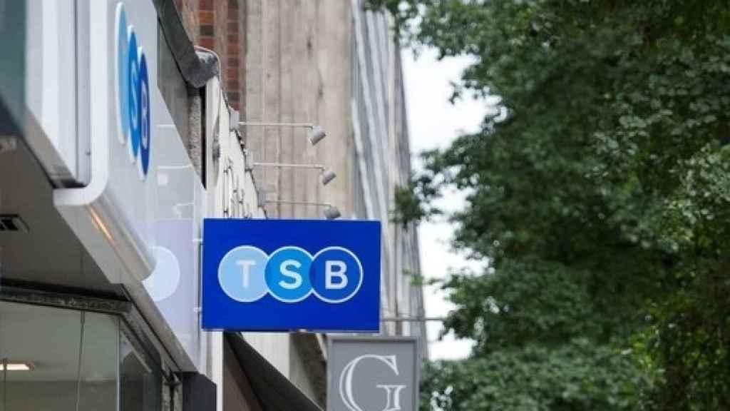 Imagen de una oficina de TSB, filial británica de Sabadell.