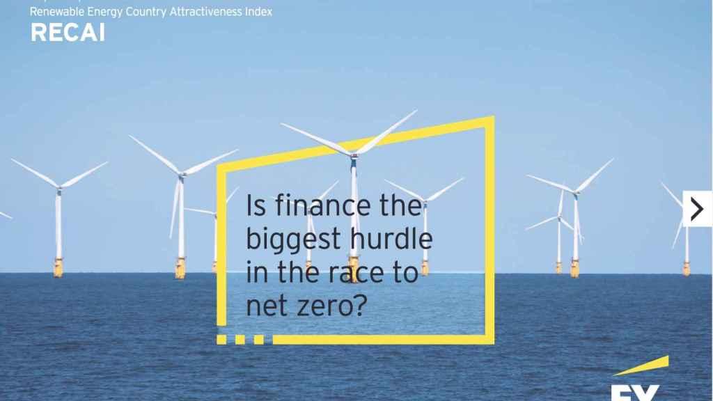 España, entre los 10 países más atractivos para la inversión en renovables