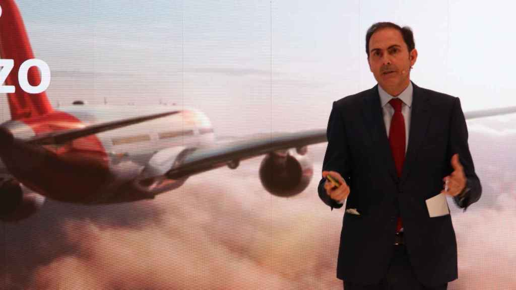 El presidente de Iberia, Javier Sánchez-Prieto.