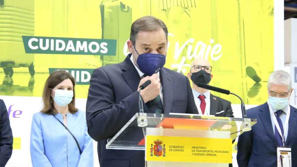 José Luis Ábalos, ministro de Transportes y Agenda Urbana.