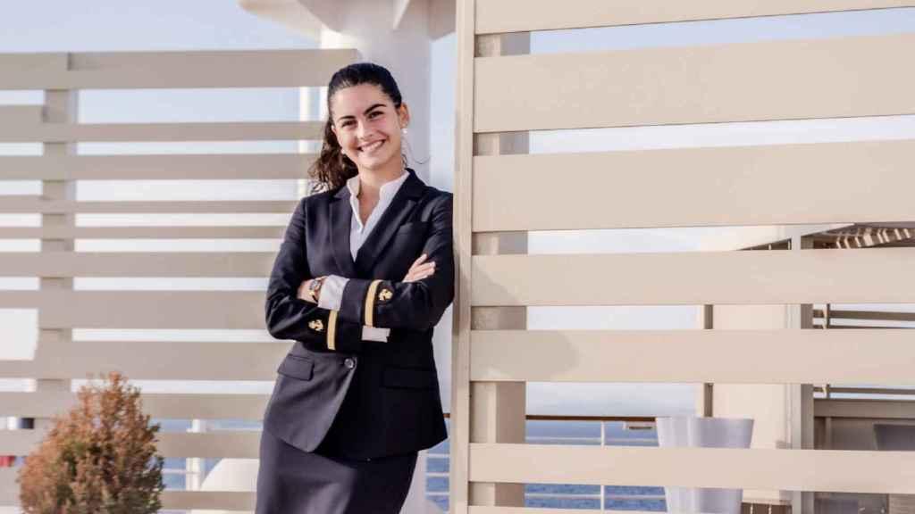Aitana González, ingeniera naval.
