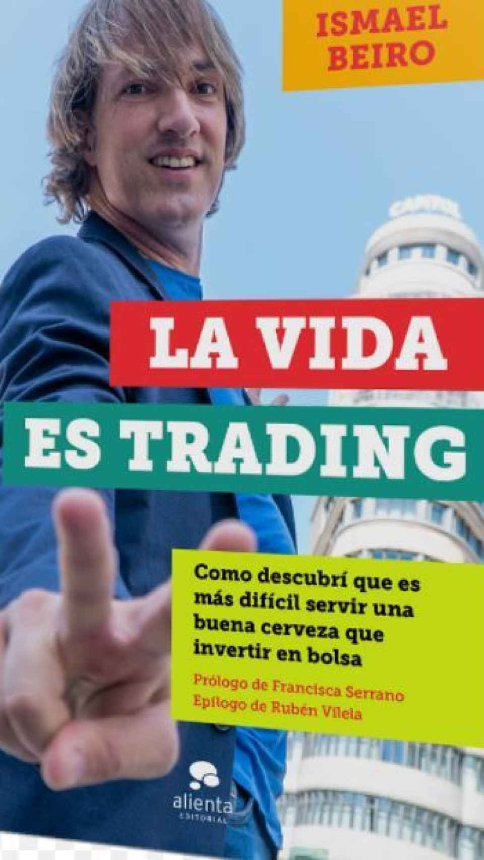 La portada del libro de Ismael Beiro.