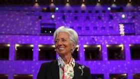 La presidenta del BCE, Christine Lagarde, en una reciente intervención ante el Eurogrupo.