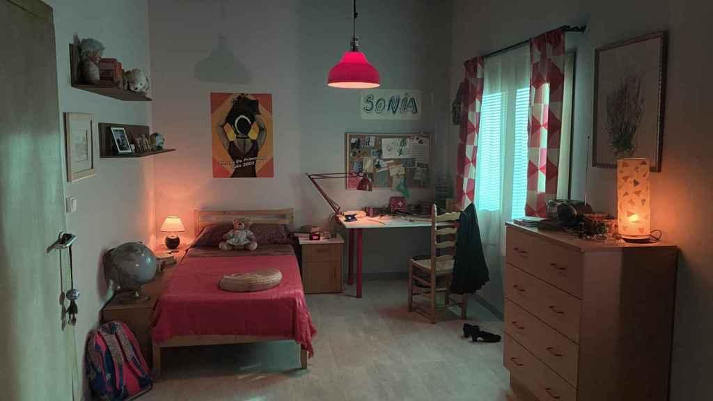 La habitación de Sonia Carabantes.