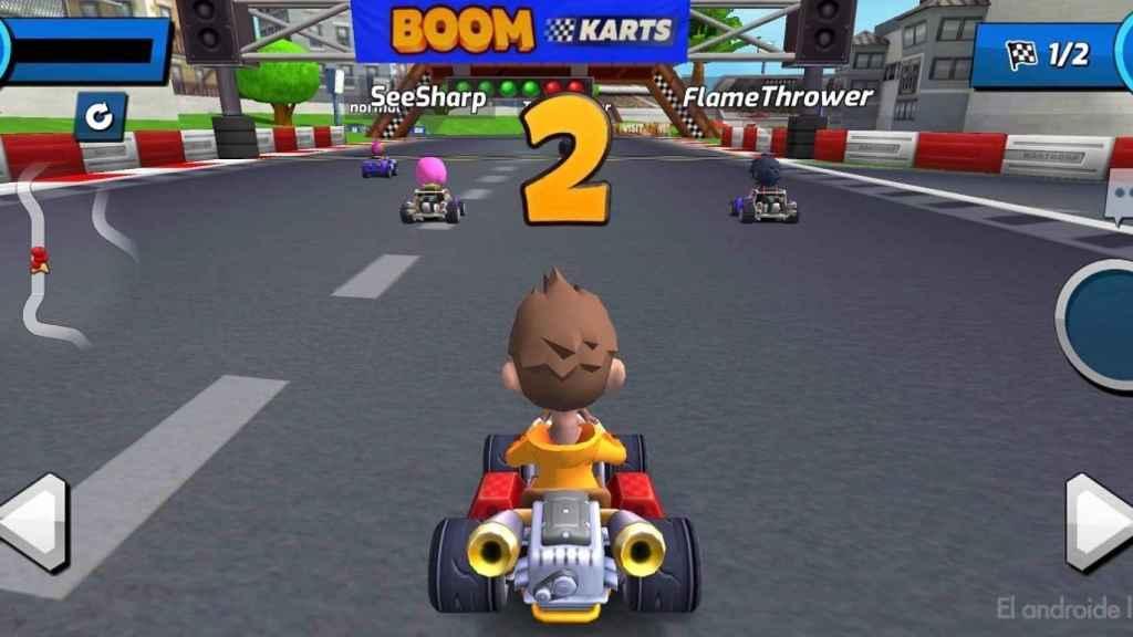 Boom Karts inicio