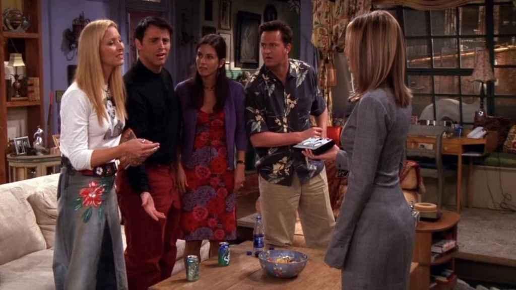 'El de la cinta de vídeo' ('Friends')
