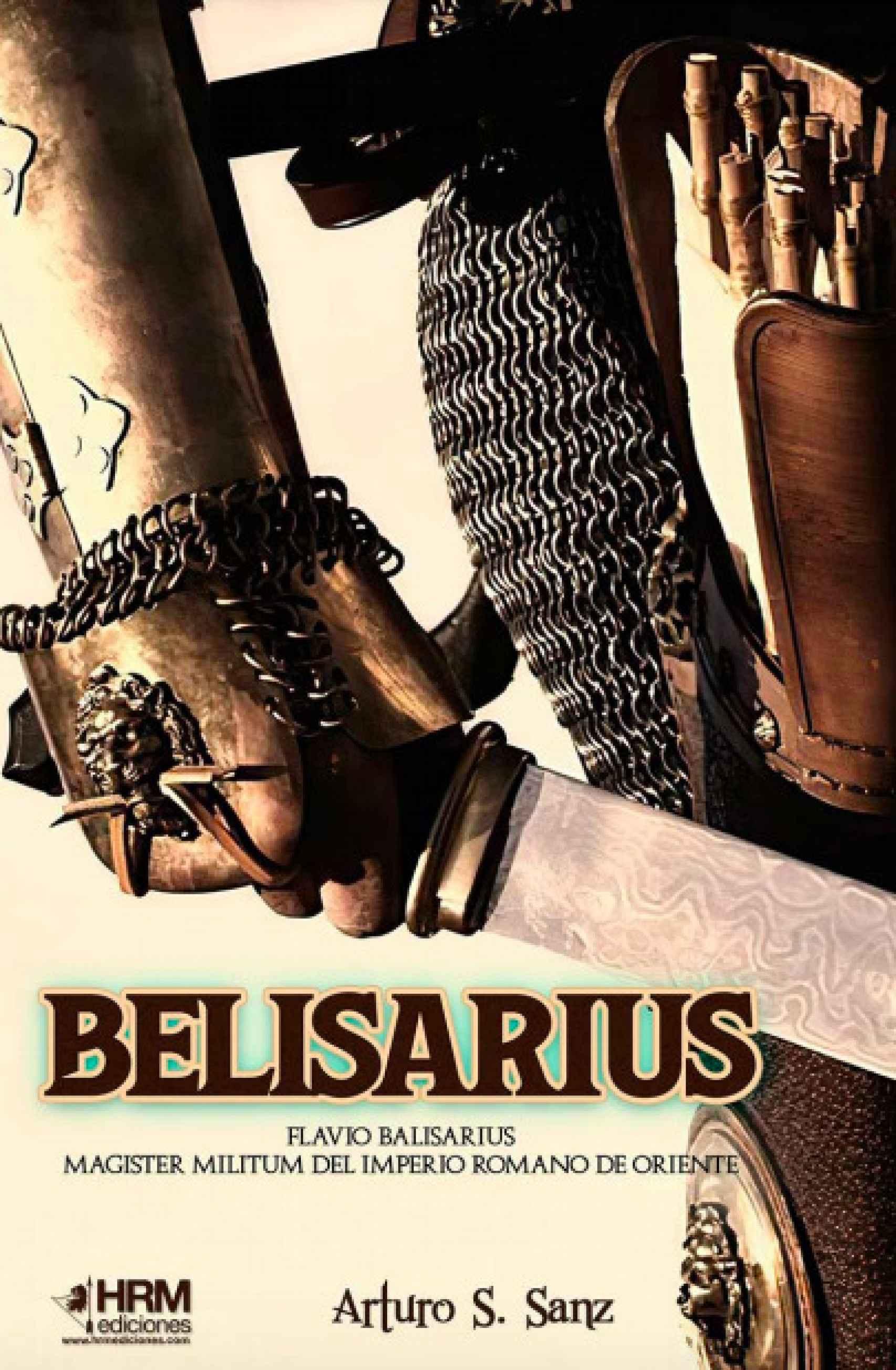 Portada de 'Belisarius'.