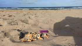 ¿Sanción o concienciación? Elche opta por recomendar a sus bañistas no fumar en las playas