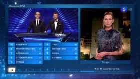 La gota que colma el vaso de los eurofans: Nieves Álvarez volverá a ser portavoz en Eurovisión