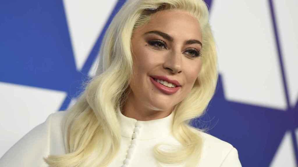 Lady Gaga, durante una evento previo a la gala de los Oscar 2019.