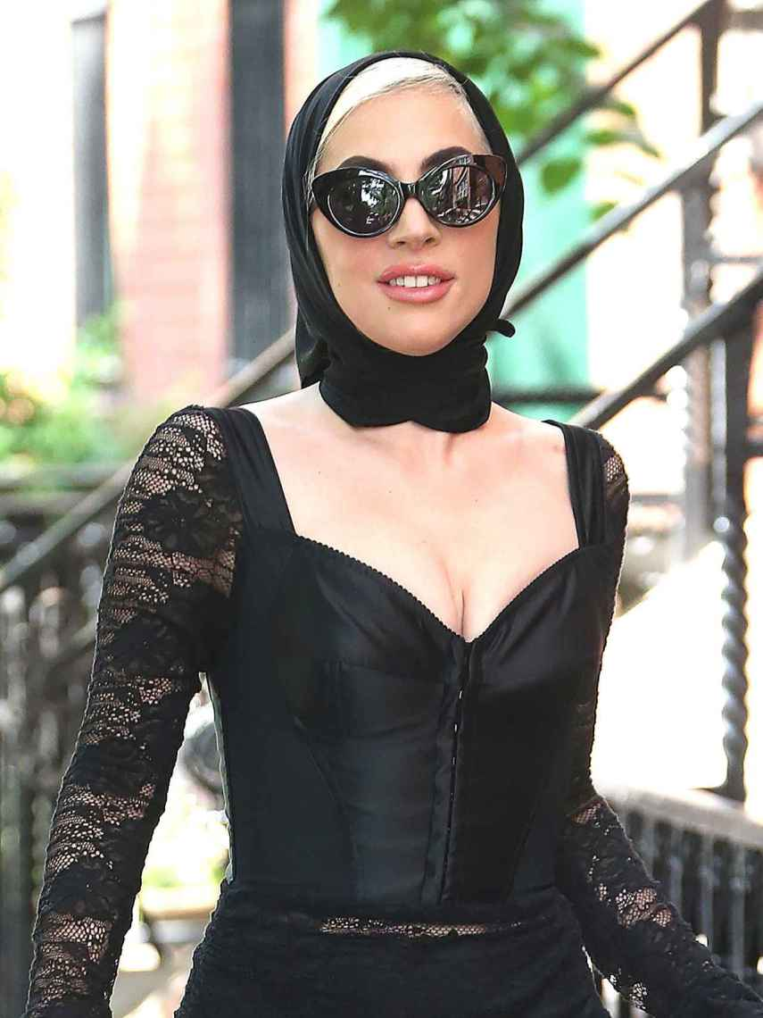 Lady Gaga on the streets of New York.