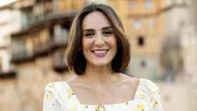 Tamara Falcó posando sonriente para sus seguidores de Instagram.