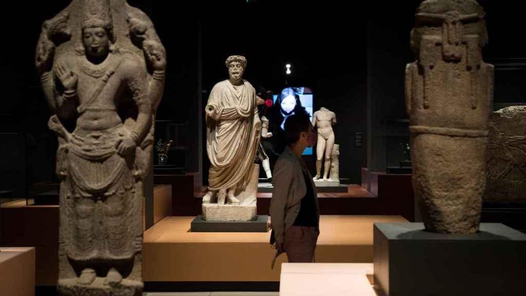 Piezas expuestas en la muestra 'La imagen humana. Arte, identidades y simbolismo'.