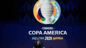 Presentación de la Copa América 2020 con sede en Argentina y Colombia