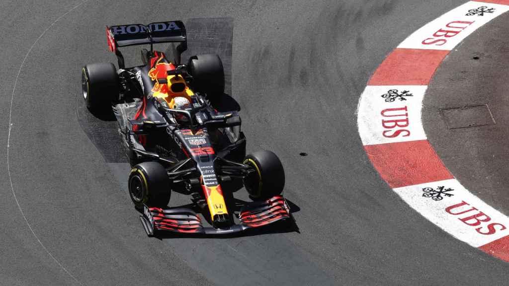 Verstappen en el Gran Premio de Mónaco de Fórmula 1