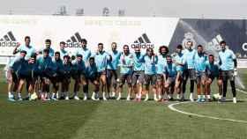 La foto de familia del Real Madrid
