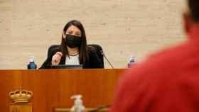 Bárbara García, consejera de Bienestar Social de Castilla-La Mancha (Foto: Cortes CLM)