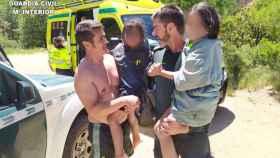 Dos guardias civiles han salvado la vida a dos niñas en Cuenca