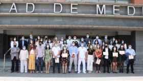 Acto de despedida de los 84 residentes de la Gerencia de Atención Integrada de Albacete