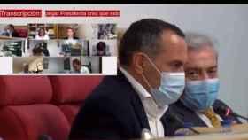 Ramón Lorente, concejal del PSOE en el Ayuntamiento de Toledo, durante su intervención